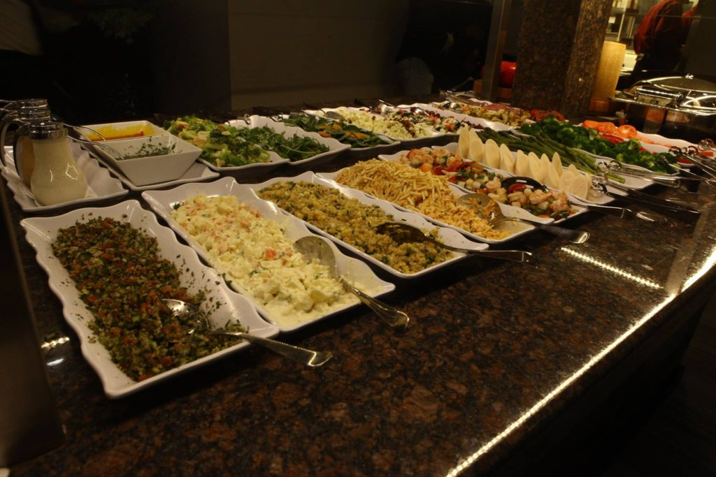 pampa gaucho salad bar